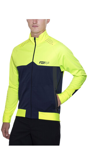 Fox Bionic Light Softshell Jacket Men flo yellow